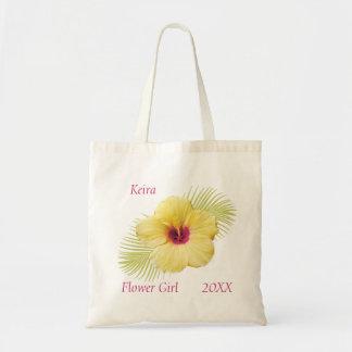 Tote personalizado florista tropical