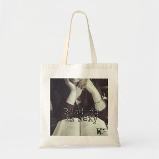 Tote: Reading is Sexy Bolso De Tela