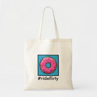Tote #rideflirty del FD Bolso De Tela