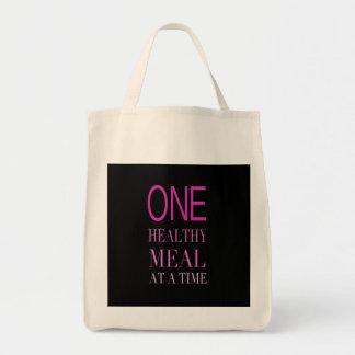Tote sano del ultramarinos de la comida bolsa tela para la compra