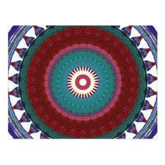 Totem colour pattern postal