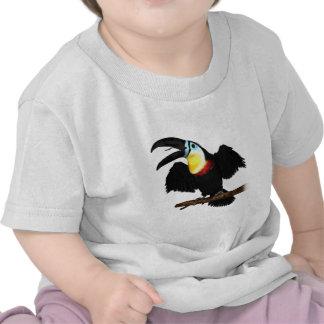 Toucan Canal-Cargado en cuenta Camisetas