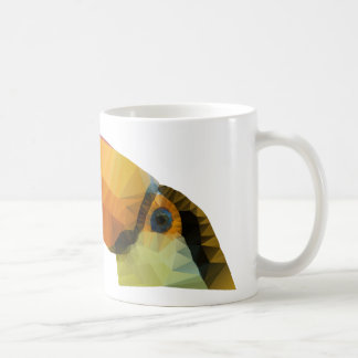 Toucan polivinílico bajo taza de café