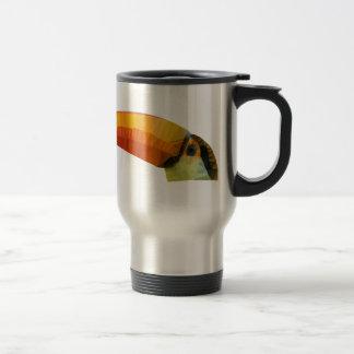 Toucan polivinílico bajo taza de viaje