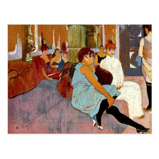 Toulouse-Lautrec - el salón en el DES Moulin de la Postal