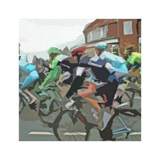 Tour de France en Yorkshire Lona Envuelta Para Galerias