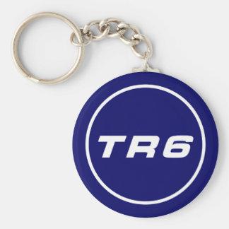 TR6 llavero royal blue