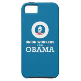 Trabajadores de unión para Obama iPhone 5 Cobertura