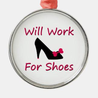 Trabajará para los zapatos adorno para reyes
