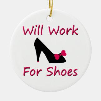 Trabajará para los zapatos adorno de reyes