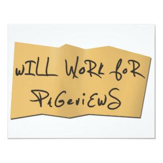 Trabajará para Pageviews Comunicados Personales