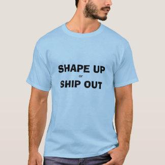 Trabaje mejor o envíe hacia fuera la camiseta
