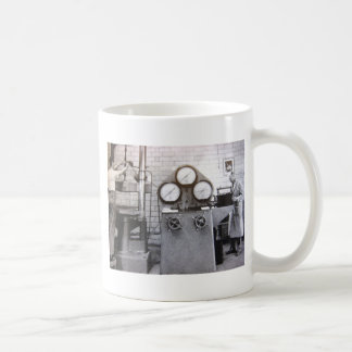 Trabajo de la fábrica taza