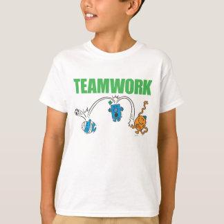 Trabajo en equipo camiseta
