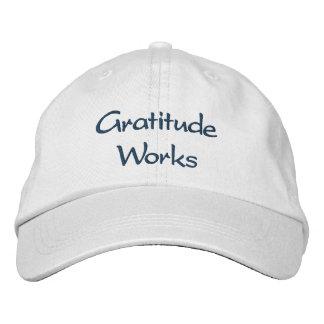 Trabajos de la gratitud - gorra