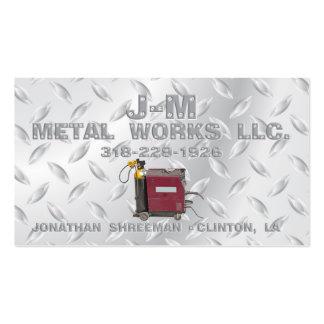 Trabajos del metal de JM Tarjetas De Visita