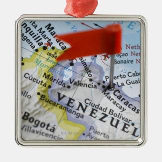 Trace el perno colocado en Caracas, Venezuela en m Ornamentos Para Reyes Magos