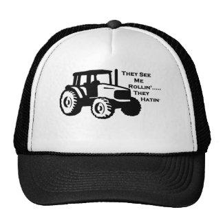 Tractor de granja Rollin Gorra
