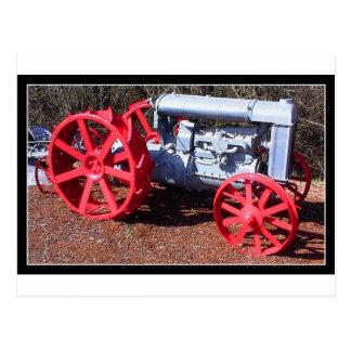 Tractor de granja postales