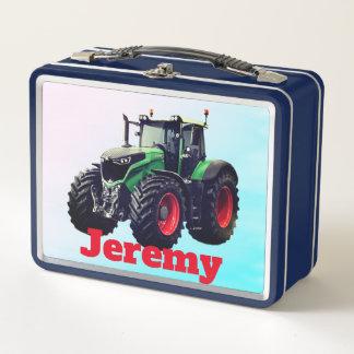 Tractor de granja verde personalizado