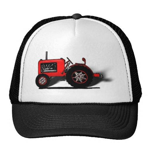 Tractor de la escuela vieja gorra