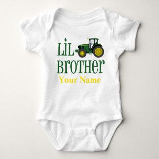 Tractor de pequeño Brother personalizado Body Para Bebé