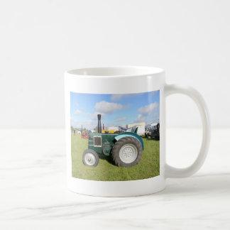 Tractor del diesel del vintage taza de café