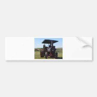 Tractor del vapor de la pradera pegatina para coche