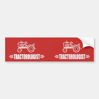 Tractor divertido pegatina para coche