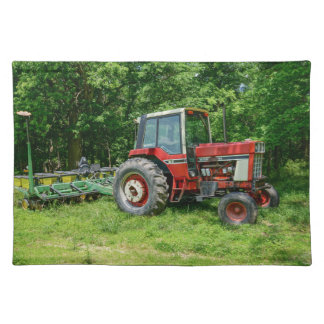 Tractor internacional viejo manteles