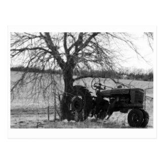 Tractor jubilado postal