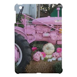 Tractor rosado