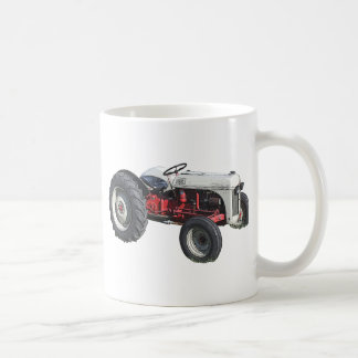 tractor taza de café