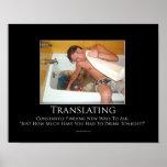Traducir el poster de motivación