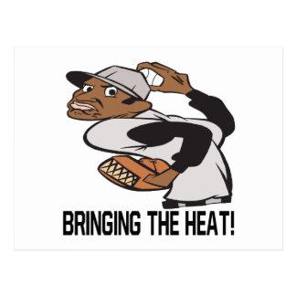 Traer el calor postal