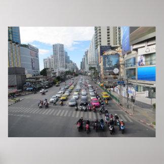 Tráfico de Bangkok Posters
