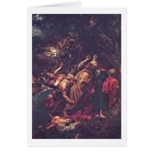 Traición de Anthony Van Dyck Felicitaciones