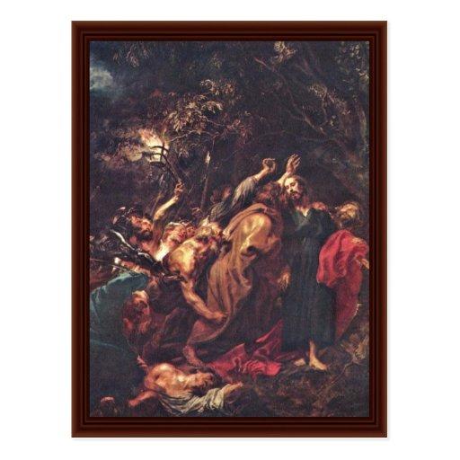 Traición de Dyck Anthonis Van Tarjeta Postal