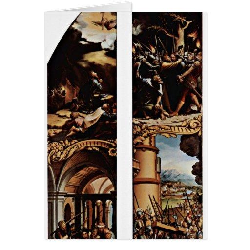 Traición y cruz de Hans Holbein el más joven Felicitacion