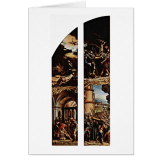 Traición y cruz de Hans Holbein el más joven Felicitación