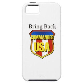 Traiga detrás al comandante los E.E.U.U. Funda Para iPhone SE/5/5s