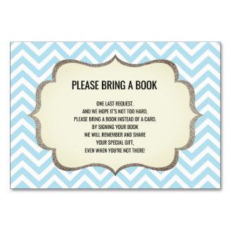 Traiga un libro - Chevron las tarjetas de la