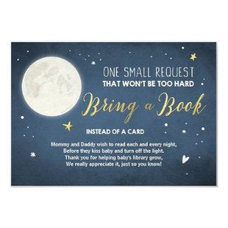 Traiga una tarjeta de libro a la luna y a la