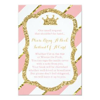Traiga una tarjeta de libro, pequeña princesa,