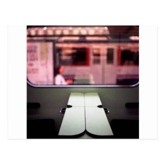 Train table and station Hasselblad medium format 1 Postal