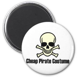Traje barato del pirata imán para frigorifico