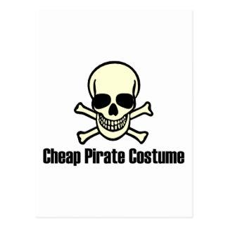 Traje barato del pirata postales