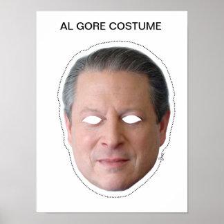 Traje de Al Gore Póster