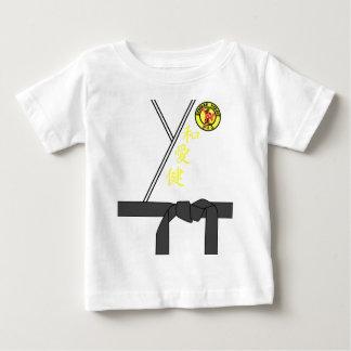 Traje de Halloween del amo del karate del uniforme Camiseta De Bebé