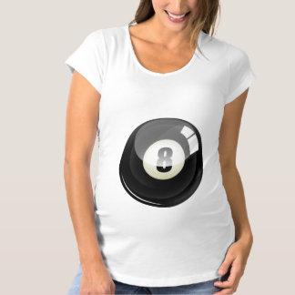traje de Halloween del embarazo 8-Ball Camiseta De Premamá